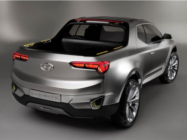 Компания Hyundai планирует разработать серийную версию концепта Santa Cruz